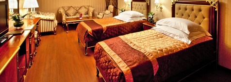 Twin Room at Shah Palace Hotel in Baku